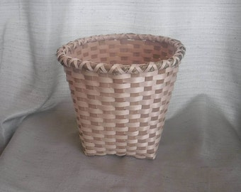 Handwoven Native American Waste Basket