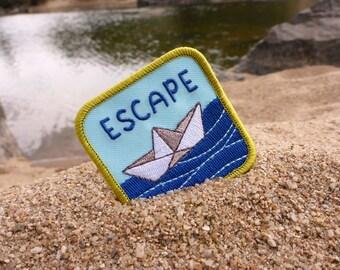 Escape Patch - Adventure Patch - Outdoors Patch - Sailing Patch - Boat Patch - Traveller Patch - Traveler Patch - Travel Patch