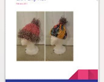 Crochet Pattern Ski Party Hat