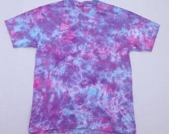 Galaxy TIE DYE Shirt Size Medium - Blue, Purple, Pink