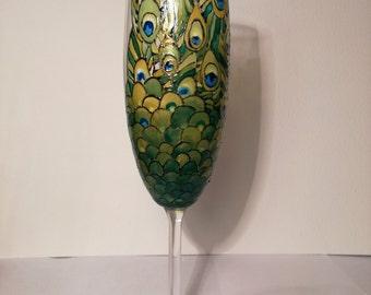 Art glass cup