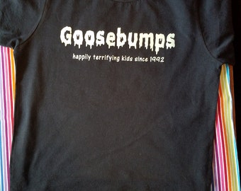 Kid's Goosebumps Tee - Glow in the Dark - Scary Stories - Bookworm Kids - RL Stine