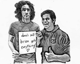 Game Grumps (Danny and Brian) Realism Drawing