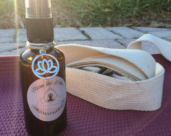 Organic Yoga Mat Spray