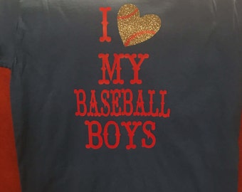 Love my Baseball Boys Shirt