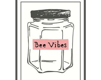 Honey Jar Sticker