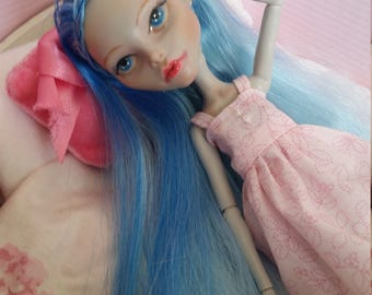 Repainted monster high doll