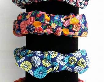 Tutti Frutti Hot Patootie ruffled hairband