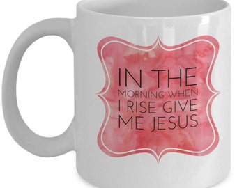 Give me Jesus Mug