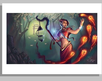 Art Print - Firefly