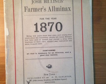 1870s Farmer's Allminax - Set of 3