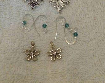 Earring hooks/ embellishments
