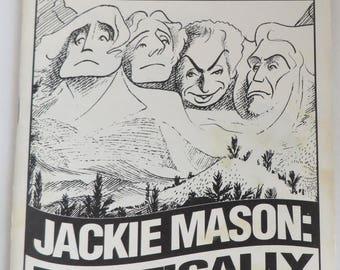 "Broadway Playbill Jackie Mason ""Politically Incorrect"", John Golden Theatre, 1994"