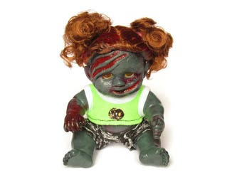Creepy, Gory Zombaby Doll - Doris