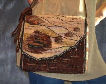 Hand-woven bag