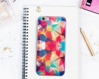 Dreamy Triangles Stylish Geometric iPhone 5/5s/SE iPhone 6Plus/6sPlus iPhone 6/6s iPhone 7 iPhone 7 Plus Case Witty Novelty