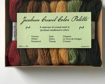 Jacobean Crewel Thread: Basic Collection
