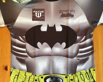 Batman Loose Fit Rugby Jersey