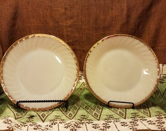 """Fire King Plates- 9"""""""