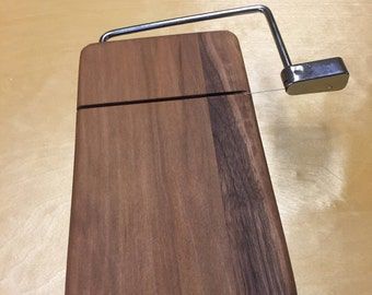 Handcrafted Cheese Cutter made of Red Gum and Mahogany