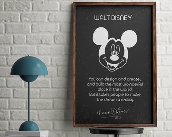 disney office decor. walt disneyu0027s quote and signature inspirationalmotivational quotewalt home disney office decor