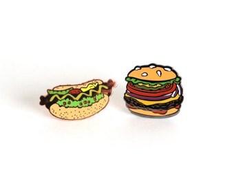 BBQ Lovers Pin Set