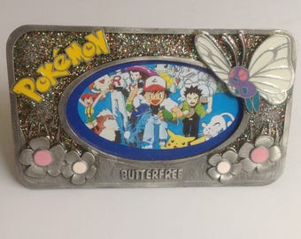 Vintage Pokemon Picture Frame Butterfree