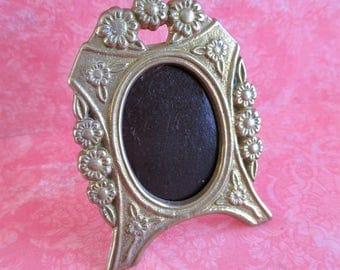 Little Vintage Brass Picture Frame