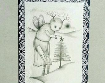Fine Art Print  by ANGIECLEMENTINE 5 x 7 professional print