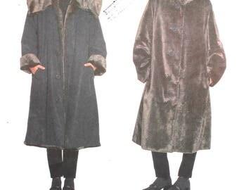 UNCUT Issey Miyake Coat Pattern All Sizes Vogue Designer 2182