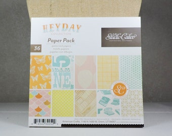 Scrapbook Paper Pad 6x6 HeyDay by Studio Calico