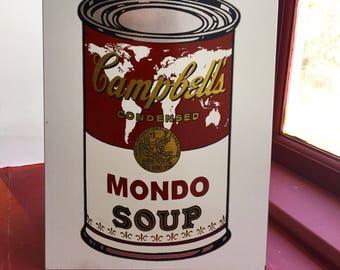 "Warhol inspired ""Mondo"", Earth Soup"