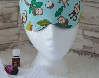 Monkey Business Eye Mask for Sleep, Travel, etc. ~ READY TO SHIP ~ Gift for Her, Gift for Him, Teachers, Friends, All Occasion Gifts