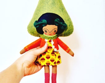 Tree Girl // Unique Doll // One of a Kind // Ready to Ship