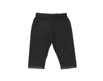 Tribal Baby - Arrow Pants - Girls Pants -  Boys Pants - Baby Clothes - Baby Pants - Black Pants - Gray - Minimalist Baby - 18m