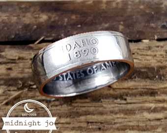 Idaho Coin Ring Your Size State Quarter Double Sided MR0705-TSTID