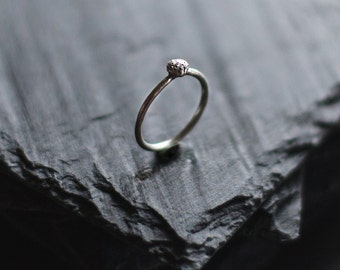 Minimal sterling silver ring / Simple ring / Delicate Ring
