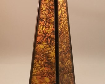 Stained Glass Leaded Glass Oil Wand Kaleidoscope
