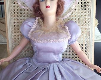Vintage Boudoir Doll