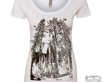 Womens REDWOODS Scoop Neck Tee - T Shirt S M L XL XXL (+ Color Options)