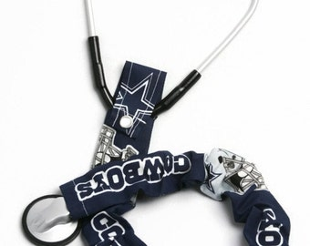 Stethoscope Cover, Stethoscope Covers, Nursing Student, Student Nurse, Stethoscope Sock, Scrubs, Dallas Cowboys, Team Sport Fabric, Cowboys