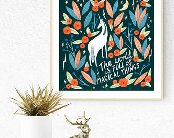 Limited Edition magical things Giclee Print