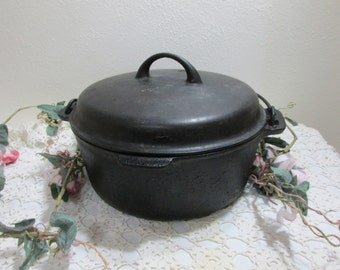 Cast Iron Dutch Oven Heavy Number 8