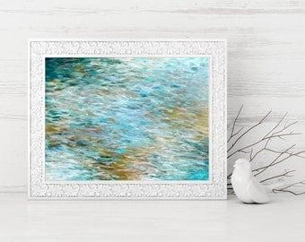 Digital Print - Instant Download Art - Abstract Painting - Abstract Art Print - Abstract Printable - Contemporary Beach Home Decor - 9x12