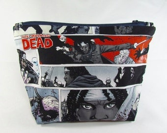 POUCH- The Walking Dead - Michonne **handmade**