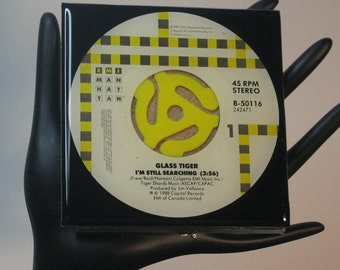 Glass Tiger (I'm Still Searching) Collectible Drink Coaster