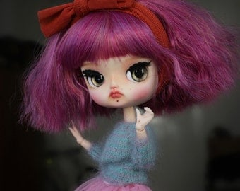 Marie - custom Dal doll from Pullip family - ooak doll by KarolinFelix