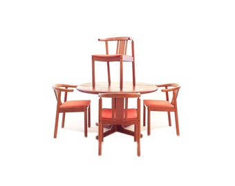 Vintage Danish Modern Dining Set