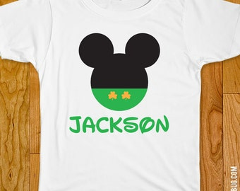 Mickey Mouse St. Patrick's Day Iron-On