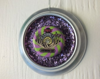 3 Floyd's Brewing Co Ornament - Recycled